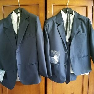 Other - Size 12 6 piece navy suit. Worn once for pics.